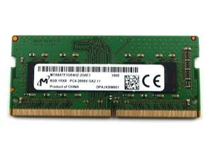 MTA8ATF1G64HZ Micron 8GB 1RX8 DDR4 SO-DIMM PC4-21300 2666MHZ Memory Module MTA8ATF1G64HZ-2G6E1 Laptop Memory