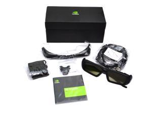 GENUINE DELL NVIDIA 3D VISION PRO GLASSES KIT P703 4J8TD 942-50703-0100-003