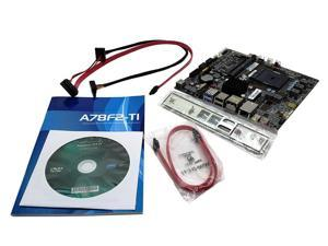 A78F2-TI V1.0 ECS AMD A78 Chipset FM2+ Socket SATA3 6GB/S Mini ITX Motherboard AMD Socket FM2+ Motherboard