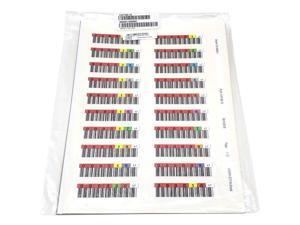 3-07185-15 Quantum LTO-7 Ultrium 000001-000060 Data Cartridge Code Labels GWCN7 Clearance Sale