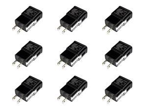 GH44-02432F LOT OF 9 Samsung 100-240V 5V Black Travel Charger Adapter ETA-U90JBE AC / DC Power Adapters Lots