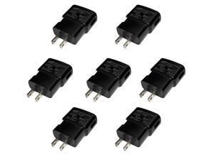 GH44-02389A LOT OF 7 Samsung 100-240V 5V Black Travel Charger Adapter ETA0U60JBE AC / DC Power Adapters Lots