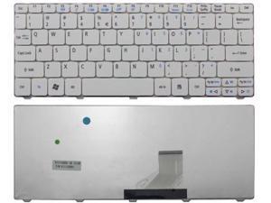 Laptop Keyboard Compatible for P//N 6037B0084002 V138126FS1-US V000321450 V000321460 6037B0084502 MP-11B53US-9301B US White