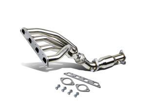 For 2002 to 2008 Mini Cooper R50 / R53 Stainless Steel Racing Exhaust Maniford Header + Delete Pipe 03 04 05 06 07