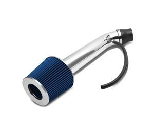 """For 1994 to 2001 Acura Integra GS RS LS 3"""" OD Blue Performance Short Ram Air Intake + Filter System"""