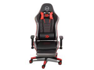 """NRG Innovations RSC-G100RD 33"""" L x 25"""" W X 52.5"""" H Red Fiberglass Frame Reclinable Adjustable Back Bucket Office Seat"""