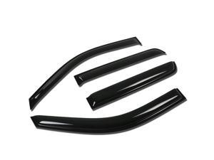 Replacement for Cadillac Escalade GMT900 4pcs Tape-On Window Visor Deflector Rain Guard