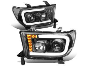 Spec-D Tuning LHP-MST10-TM Projector Headlight 10-Up Ford Mustang H.L.