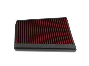 Nissan Qashqai / Dualis / X-Trail Reusable & Washable Replacement Engine High Flow Drop-in Air Filter (Red)