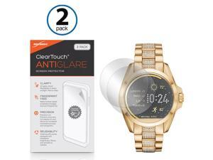 Fossil Q Founder Gen 1 Screen Protector, BoxWave [ClearTouch Anti-Glare (2-Pack)] Anti-Fingerprint Matte Film Skin for Fossil Q Founder Gen 1