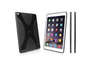 iPad Air 2 Case, BoxWave [BodySuit with BONUS Keychain Charger] Premium Textured TPU Rubber Gel Skin Case for Apple iPad Air 2