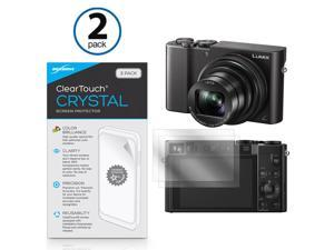 Panasonic Lumix DMC-ZS100 Screen Protector, BoxWave [ClearTouch Crystal (2-Pack)] HD Film Skin - Shields From Scratches for Panasonic Lumix DMC-ZS100