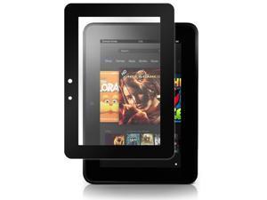 Kindle Fire HD 7 (2012) Screen Protector, BoxWave [ClearTouch Ultra Anti-Glare] Bubble Free Screen Guard w/ Colored Border for Amazon Kindle Fire HD 7 (2012) - Black