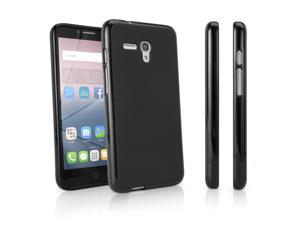 Alcatel OneTouch Pop 3 (5.5) GSM 5054 Case, BoxWave [Blackout Case] Durable, Slim Fit, Black TPU Cover for Alcatel OneTouch Pop 3 (5.5) GSM 5054