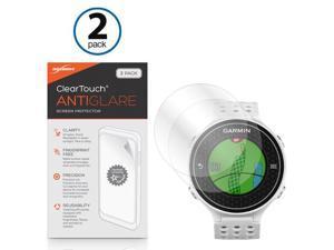 Garmin Approach S6 Screen Protector, BoxWave [ClearTouch Anti-Glare (2-Pack)] Anti-Fingerprint Matte Film Skin for Garmin Approach S6