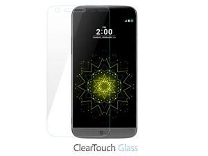 LG G5 Screen Protector, BoxWave [ClearTouch Glass] 9H Tempered Glass Screen Protection for LG G5