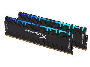 HyperX Predator DDR4 RGB 16GB (2 x 8GB) 4000MHz CL19 DIMM XMP RAM Memory/Infrared Sync Technology Black (HX440C19PB3AK2/16)