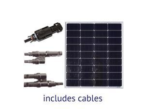 Grape Solar 100-Watt Off-Grid Solar Panel Expansion Kit