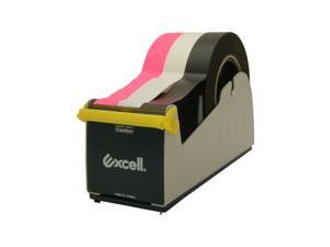 Excell EX-17 Steel Desk Top Tape Dispenser: 3 in width  **padded foam bottom