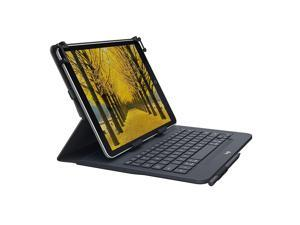"""Logitech Universal Folio with Integrated Bluetooth 3.0 Keyboard for 9-10"""" Apple, Android, Windows Tablets (920-008334)"""