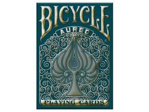 Playing Cards: Aureo Bicycle Cards Gold