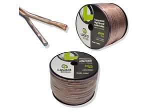 Car Home Audio Speaker Wire 10 Gauge Bulk Audio Speaker Cable Transparent 250 ft