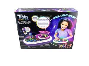 KIDdesigns TR-625.EMv0M Trolls World Tour DJ Trollex Party Mixer