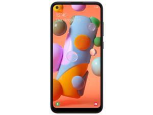"""Samsung STSAS115DCPWP Galaxy A11 6.4"""" Smartphone, Straight Talk, 32GB Storage, 2 GB RAM, 13 MP Rear 8 MP Front Camera, Android 10"""