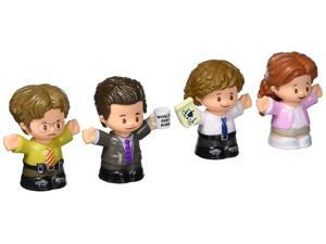 Fisher-Price Little People Collector The Office Figure Set, 4 character figures from the American TV show