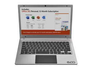 """Evoo EV-C-116-5-SL Laptop 11.6"""" AMD A4-9120 A4-9120e 1.5GHz 2GB RAM 32GB eMMC Win 10 H, Silver"""