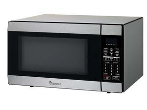 MAGIC MCD1811ST 1.8 Cu Ft Countertop Microwave 1100 Watt with Digital Touch, Stainless Steel