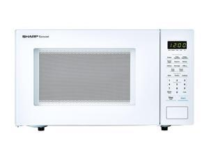 Sharp ZSMC1131CW 1,000W Countertop Microwave Oven 1.1 Cubic Foot, White