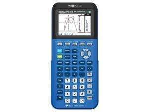 Texas Instruments TI-84 Plus CE Graphing Calculator - Blue