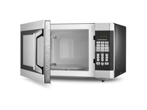 Hamilton Beach EM145AAK-P Digital Microwave Oven, Stainless Steel 1.6 Cubic Feet