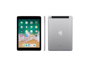 """Apple iPad 9.7"""" 6th Generation (Early 2018),32GB, Wi-Fi + 4G LTE - Space Gray"""