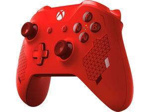 Microsoft WL3-00125 Xbox One Wireless Controller, Sport Red