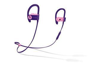 Beats Powerbeats3 Wireless Pop Violet Pop Collection in Ear Headphones MREW2LL/A