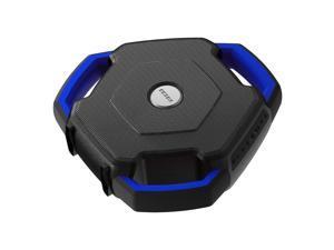 ION Audio Wave Rider Waterproof Bluetooth Speaker, Blue - with LED Illumination