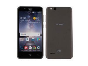 """ZTE VZW-Z839PP Blade Vantage 5"""" 16GB 1.1GHz 2GB Prepaid LTE Verizon Smartphone, Black"""