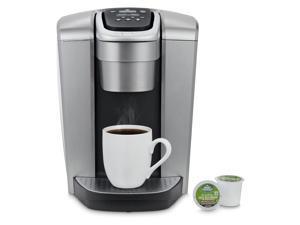 Keurig K-Elite Single Serve K-Cup Pod Coffee Maker with 75-Ounce Water Reservoir, Brushed Silver
