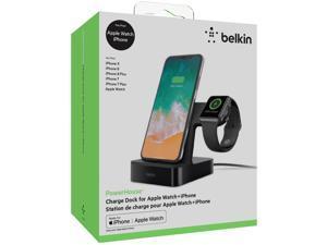Belkin PowerHouse Charge Dock for Apple Watch + iPhone X Models, Black