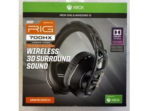 Plantronics 209800-01 RIG 700HX Ultra-lightweight Wireless Gaming Headset for Xbox One Black