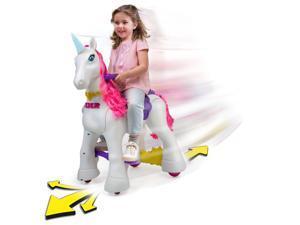Famosa 800012546 Feber My Lovely Ride On Unicorn, White