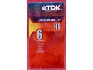TDK T120HS High Standard VHS Video Tape