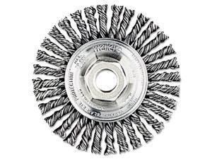 "Dualife Stb-623 Stringer Bead Twist Knot Wire Wheel, 6"" Dia"