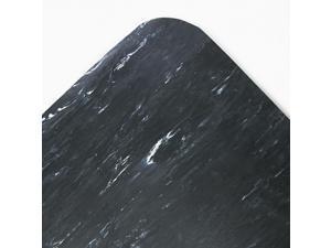 Crown Cushion-Step Surface Mat 36 x 60 Spiffy Vinyl Black CU3660SB