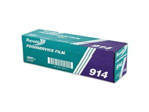 "PVC Film Roll with Cutter Box, 18"" x 2000 ft, Clear 914"