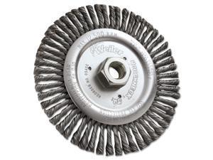 "Dualife Stb-6 Stringer Bead Twist Knot Wire Wheel, 6"" Dia, .02 Wire"