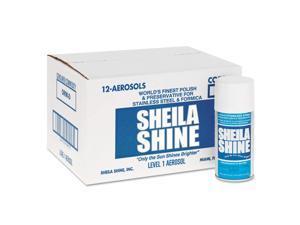 Sheila Shine - SS10 - Stainless Steel Cleaner & Polish, 10oz Aerosol, 12/Carton