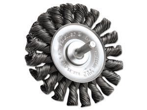 """Dualife Stm-3 Twist Knot Wire Wheel, 3"""" Dia, .02 Wire"""